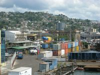 Havnefronten i Port of Spain