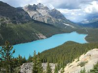 Peyto Lake i Banff NP