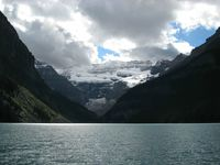 Victoria-gletcheren ved Lake Louise
